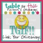 Table for five&#39;s TGIF Linky