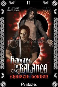 yaoi and m/m cover art - hanging in the balance