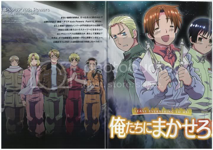 Hetalia: Paint it white (Movie) Pictures, Images and Photos